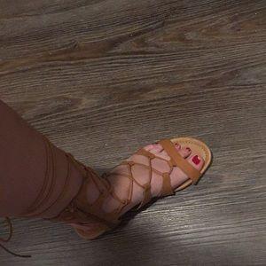 NWOT gladiator sandals women's 7.5